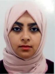 Speaker for Chemical Engineering Conferences 2019 - Rawan Al-Faze